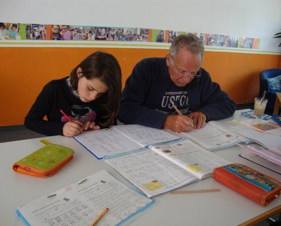 Hausaufgabenbetreuung mit Mittagstisch