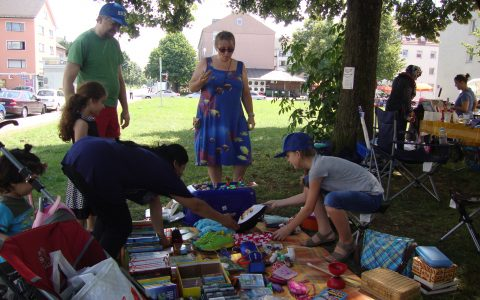 22. Juli 2017 – Flohmarkt/Sommerfest