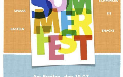 Sommerfest am 19. Juli